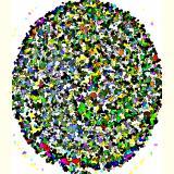 Formen, Farben /Florale Form / 29