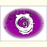 Formen, Farben /Florale Form / 16